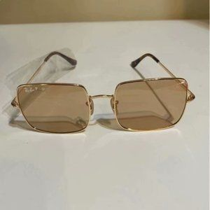 New Ray-Ban 1971 Brown Lens Square Sunglasse 54MM